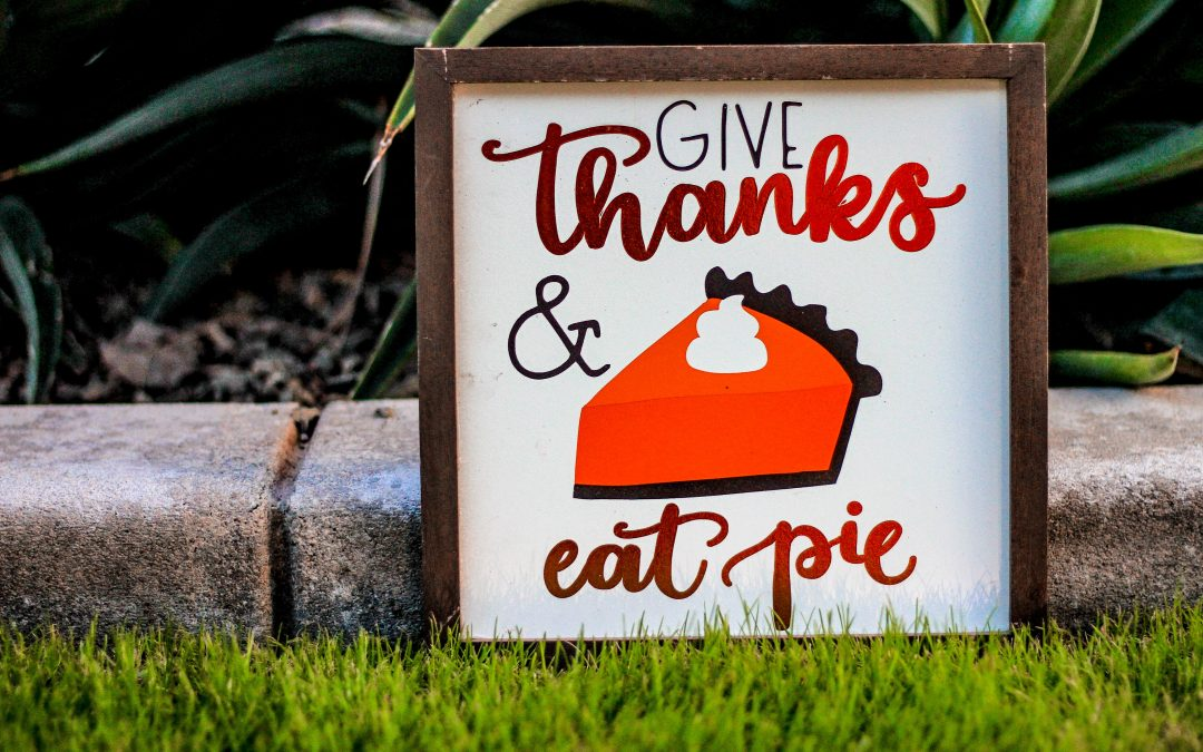 November Blog: What are you grateful for?